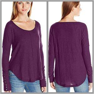 Lucky Brand | Women's Purple Thermal Shirt SZ L